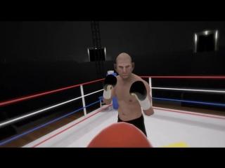 Dark Zone Club. Game 22 The Thrill of the Fight - VR Boxing , игра для очков виртуальной реальности HTC Vive