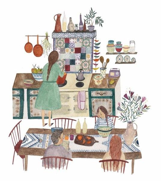 Моя бабушка говорила, что приготовление еды - это возможность поделиться своей любовью, счастьем. Когда