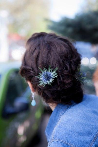 Украшение в волосы для невесты Ульяны.