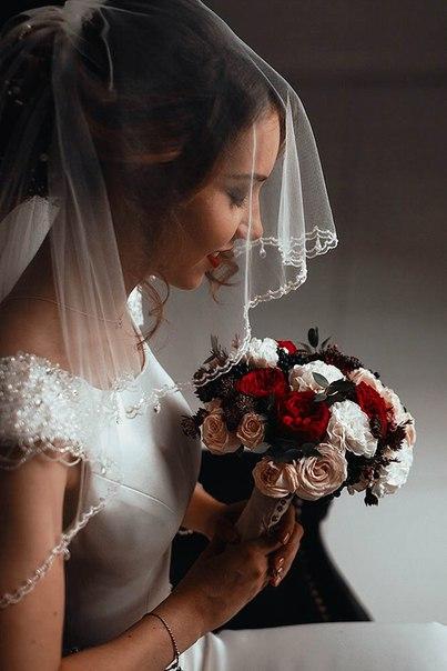 Букет невесты Даши. Фотограф: Владимир Трифонов (vt-photo.ru)