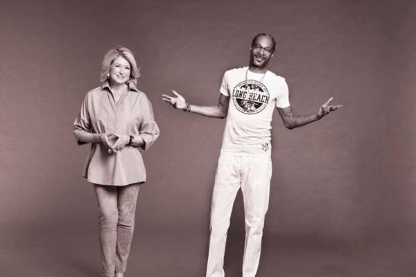 Снуп Догг станет соведущим Марты Стюарт в кулинарном шоу на канале VH1