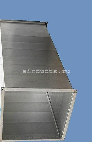 Воздуховод дымоудаления из оцинкованной стали