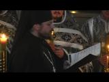 Великая Пятница, 2014, поет иеромонах Фотий (Мочалов)