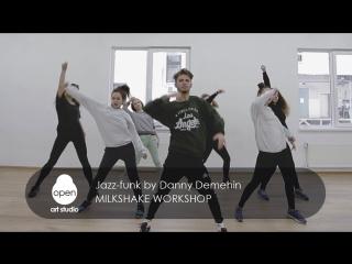 Milkshake workshop - Jazz-funk by Danny Demehin - Open Art Studio