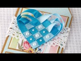 How To Make a Woven Ribbon Heart  Craft Techniques