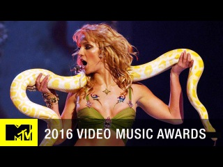Britney Spears 'I'm a Slave 4 U' 2001 VMA Performance   MTV