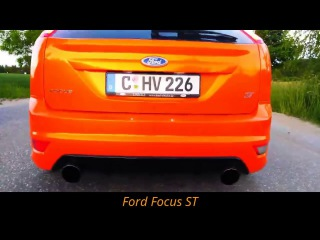Mazda 3MPS vs Vw Golf 6 GTi vs Opel Astra OPC vs Ford Focus ST vs Renault Megane RS