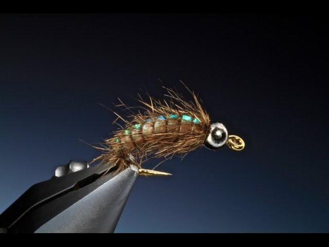Tying the Flash back caddis larva with Barry Ord Clarke