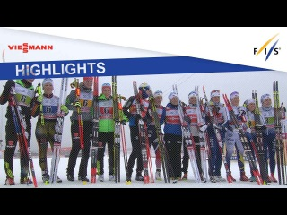 Highlights | Norway I cruises to victory in Ladies' Relay at Ulricehamn | FIS Cross Country