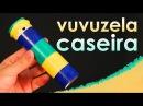 Como fazer uma vuvuzela caseira (brinquedo)