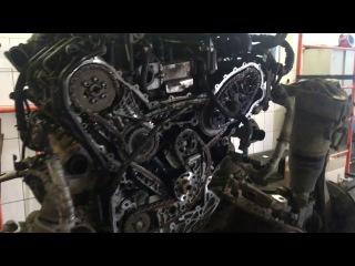 Замена цепи ГРМ AUDI Q7 3.0TDI V6