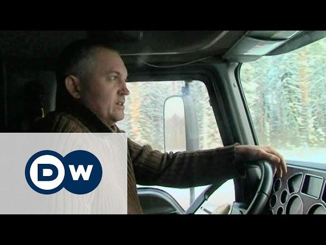 Два дальнобойщика, две дороги - одна в России, другая в Германии