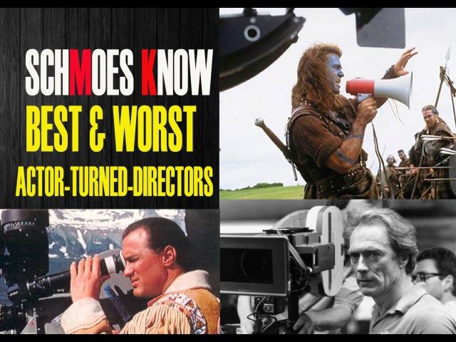 BEST WORST ACTOR-TURNED-DIRECTORS
