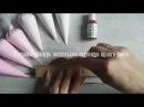 Роспись пряников с Юлией Милье Пряник с градиентной заливкой