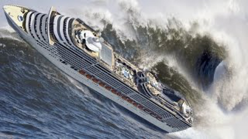 TOP 20 SHIPS in STORM! Monster Waves! Incredible Video You Must See!