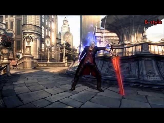 DMC4: Nero/Dante taunts with DT