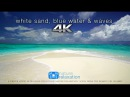 White Sand Blue Water Waves 4K UHD 2 Hours Fiji Islands Nature Relaxation™