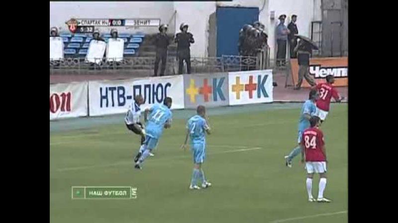 Спартак (Нальчик) vs Зенит / 14.06.2009 / Премьер-Лига