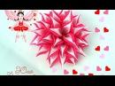 Необычный цветок канзаши Новый двойной лепесток Мастер класс Юлия Творческая мастерская