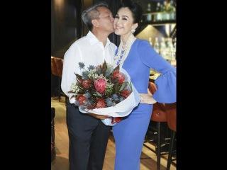 Tin showbiz moi nhat - Diễm My, 54 tuổi, vẫn được, chồng đại gia, ngọt ngào, hôn má
