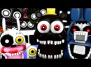 FNAF WORLD IS OUT Animatronics Reaction FNAF SFM