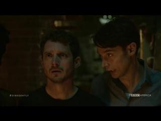 Детективное агентство Дирка Джентли / Dirk Gently's Holistic Detective Agency 1 сезон 4 серия [ColdFilm]