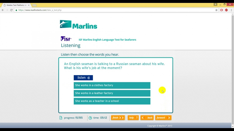 Marlins test на 100 %