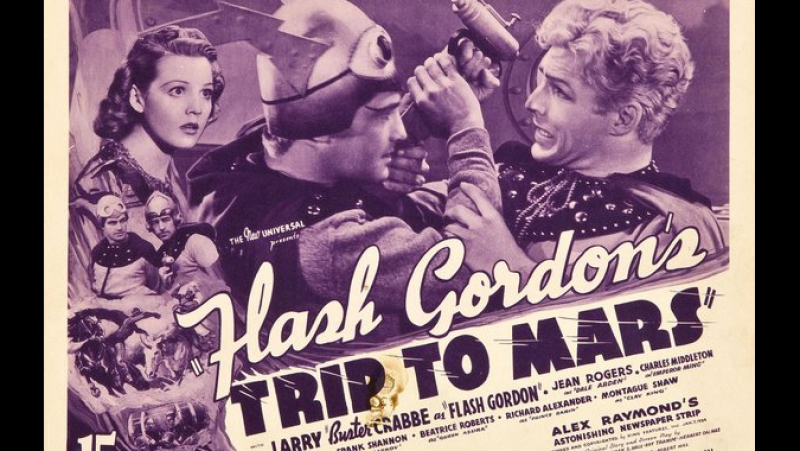 Путешествие Флеша Гордона на Марс (1938) epi 12 - Ming the Merciless