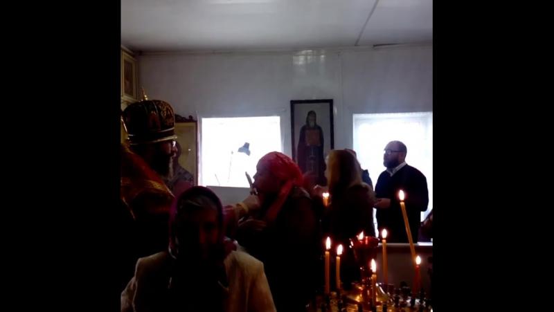 Богослужение в п.Песковка