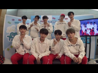 161029 Pentagon (펜타곤) Reaction On Show Music Core