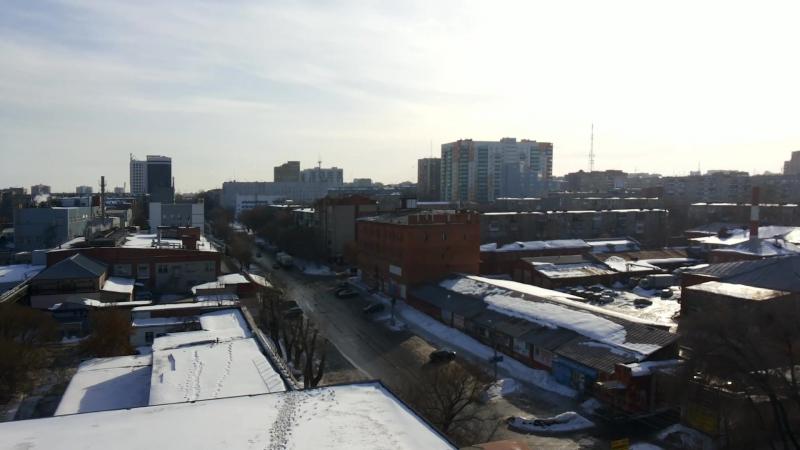 Мукомольный завод (вид сверху)