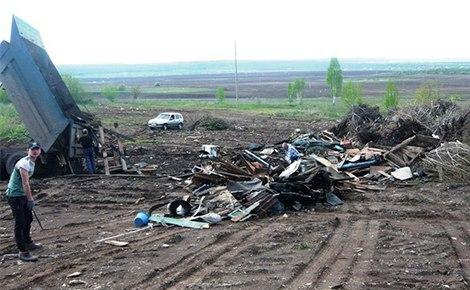 Экологический инспектор из Альметьевска обнаружил незаконный сброс отходов в селе Кульшарипово