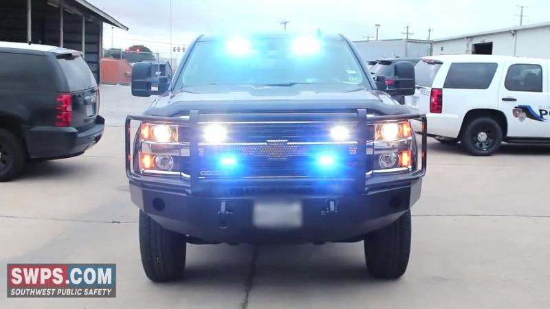 2014 Chevrolet Silverado 3500 HD with Emergency LED Lights - SWPS - TAS14SILVERADO
