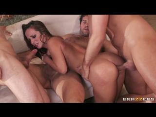 BRAZZERS Jada Stevens group, blowjob, anal,  big tits, big ass, DP