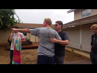 Colorblind brothers overwhelmed by seeing color for the first time