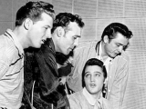 The Million Dollar Quartet - Elvis Presley,Carl Perkins,Jerry Lee Lewis,Johnny Cash.