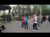 Парк Северное Тушино - танцуем хастл на площадке Клуба Любителей Танца!