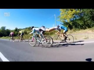 Лайфхак- как обогнать соперников на велосипеде