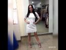 Белое ажурное платье...