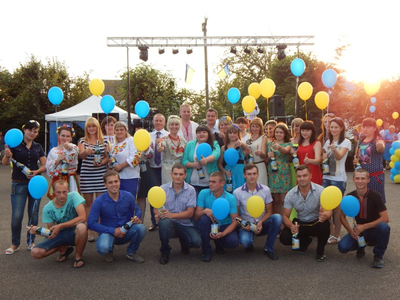 На Печеніжчині відсвяткували День Державного Прапора України та 25-ю річницю Незалежності України!