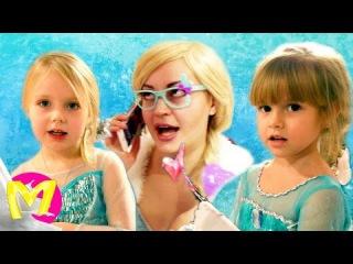 Frozen Принцесса Эльза – ДЕВОЧКИ НЕ ССОРЬТЕСЬ! Эльза BAD BABY   Видео Для детей Kids Children M...
