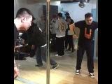 Hoan & Jaygee Practice New Showcase || Having fun