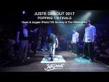 Hoan & Jaygee VS Journey & Tiro - 1/8 POPPING FINALS - JUSTE DEBOUT 2017 | Danceproject.info