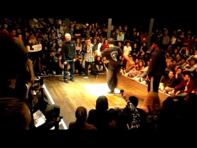 Juste Debout Paris 2017 - 1/8 Hip Hop - Majid Ukay vs. Miracle Beckz