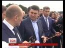 Гройсман на гвинтокрилі прилітав подивитися на ремонт дороги Знам'янка-Луганськ-Ізварине