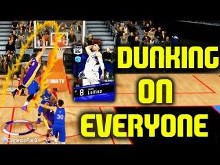SAPPHIRE ZACH LAVINE POSTERIZES EVERYONE 68 POINTS! NBA 2K17 MYTEAM GAMEPLAY
