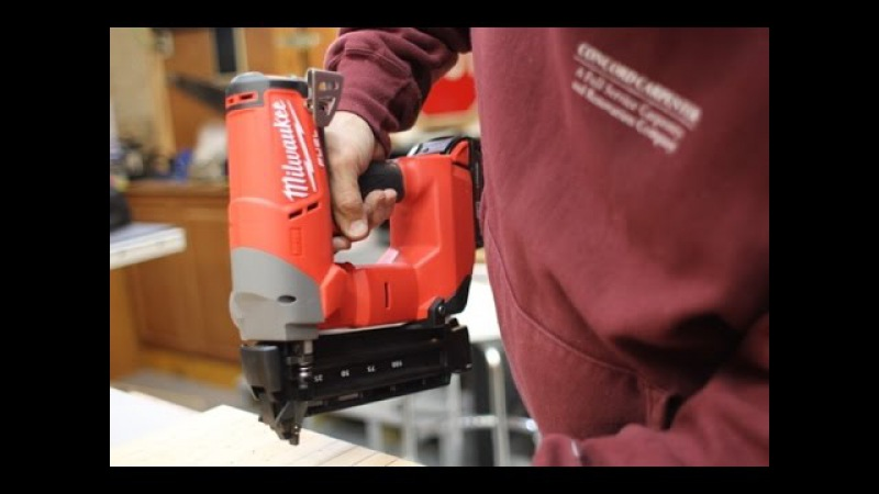 Milwaukee M18 Brad Nailer 2740-21 Review