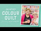 English Paper Piecing with Jenny Doan &amp Sue Daley - The Quatro Colour Quilt