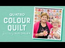 English Paper Piecing with Jenny Doan Sue Daley The Quatro Colour Quilt