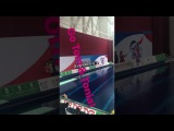 InstaStory DLB Tom Daley and Tonia Couch. Mixed 10m synchro (British National Diving Cup 2017)